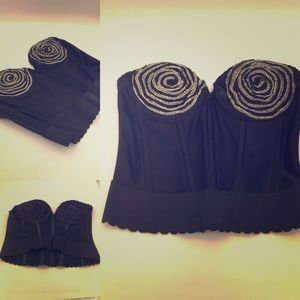 Iconic: The Beth Bustier. RARE! NWOT VTG